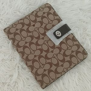 NWT COACH iPad Case